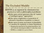 the excluded muddle