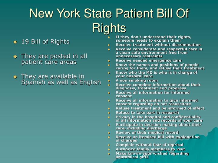 19 Bill of Rights