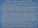 dodgy schemes and the ato