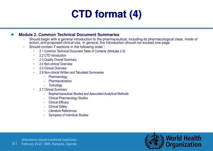 CTD format (4)