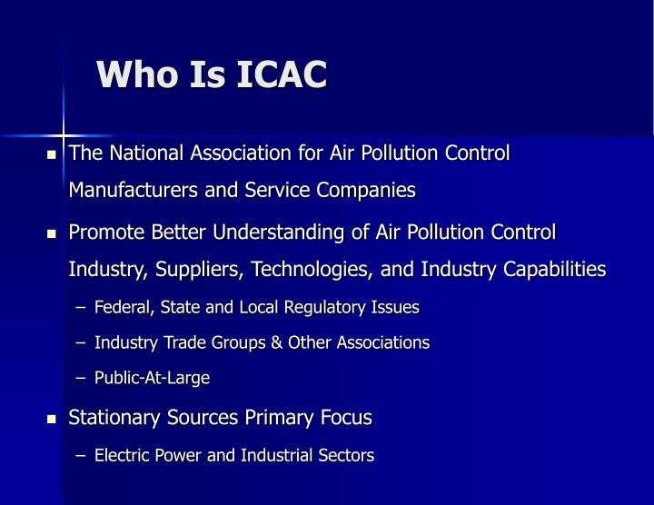 Who Is ICAC