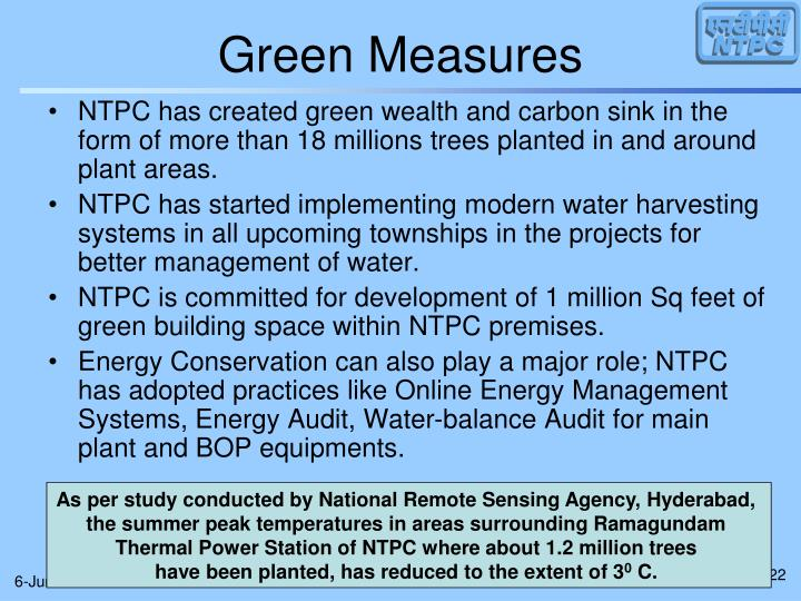 Green Measures