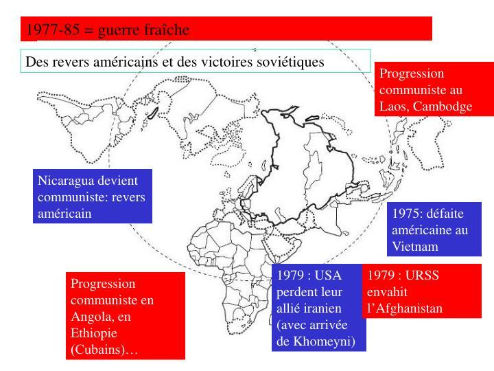 1977-85 = guerre fraîche