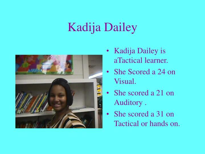 Kadija Dailey