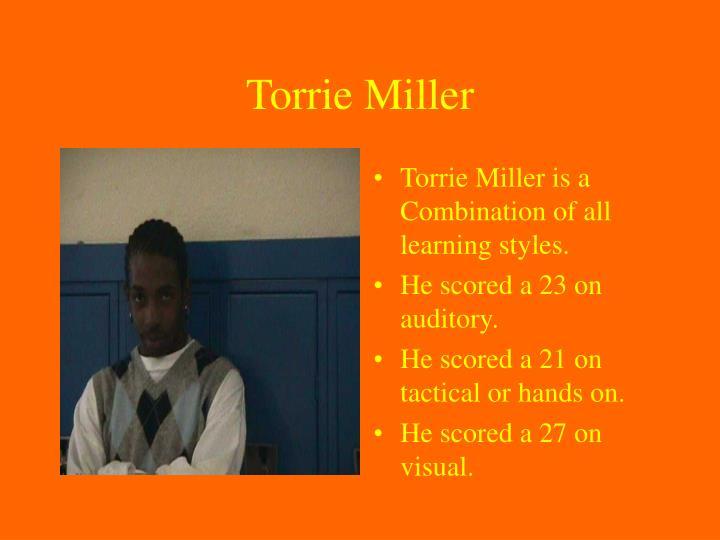 Torrie Miller