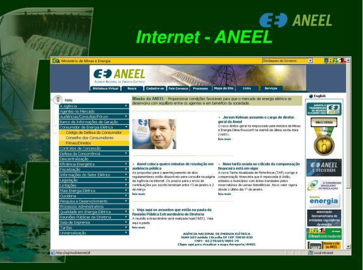 Internet - ANEEL