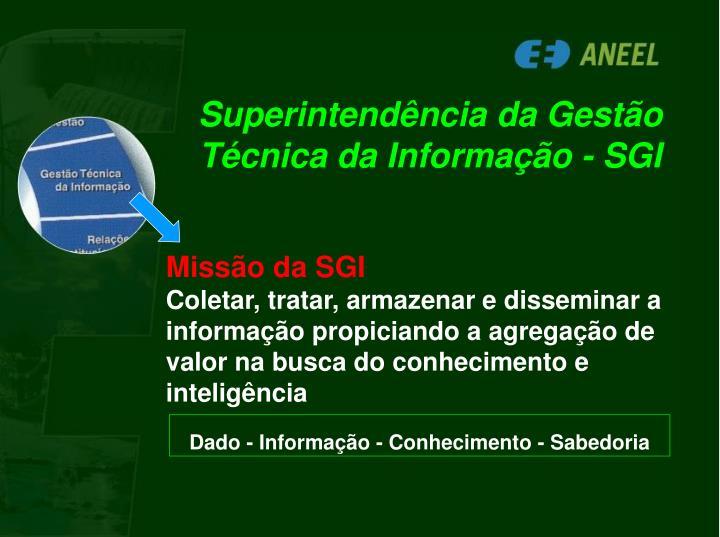 Superintendência da Gestão Técnica da Informação - SGI