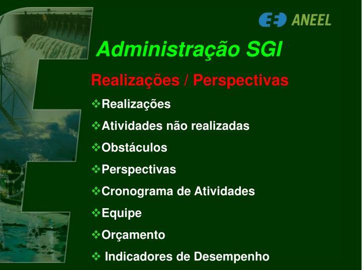 Administração SGI