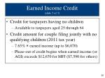 earned income credit slide 3 of 3