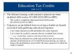 education tax credits slide 5 of 5