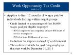 work opportunity tax credit slide 1 of 2