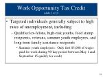 work opportunity tax credit slide 2 of 2