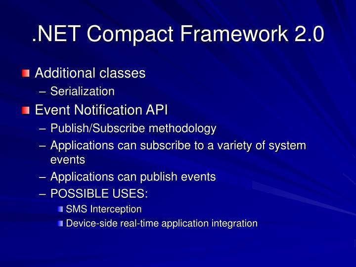 .NET Compact Framework 2.0