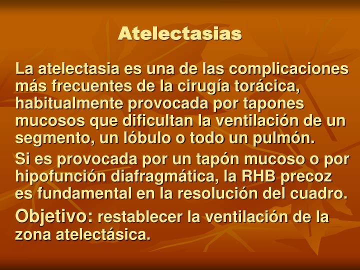 Atelectasias