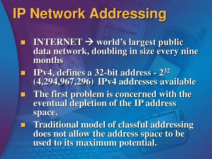 IP Network Addressing
