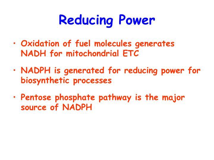 Reducing Power