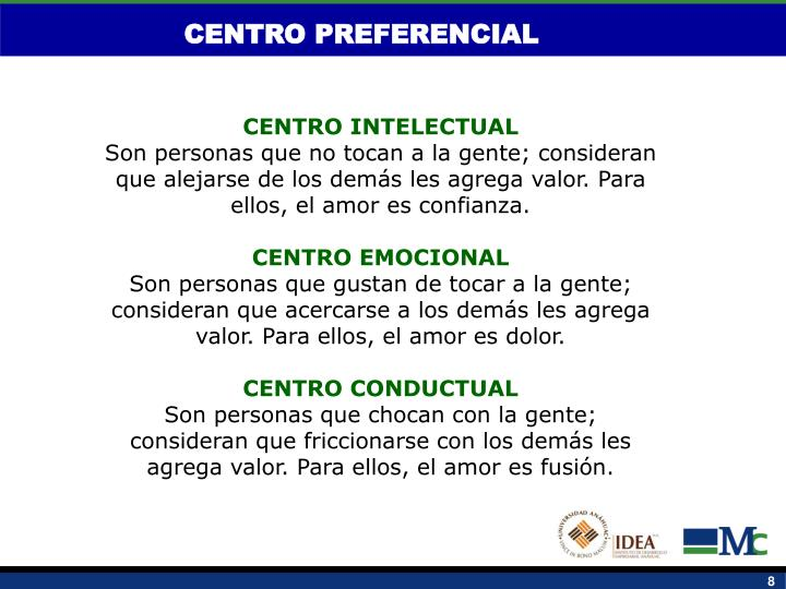CENTRO PREFERENCIAL