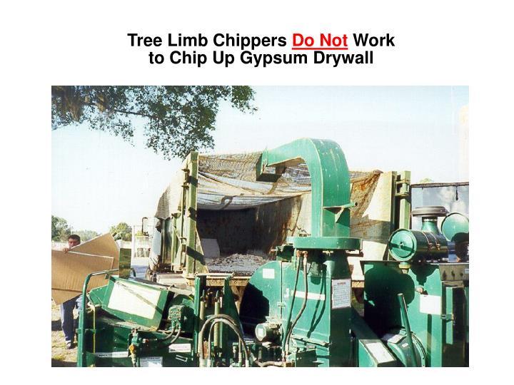 Tree Limb Chippers