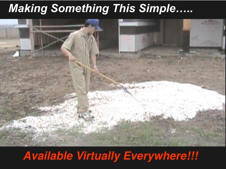 Making Something This Simple…..