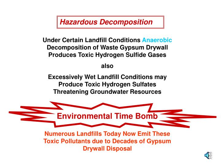 Hazardous Decomposition