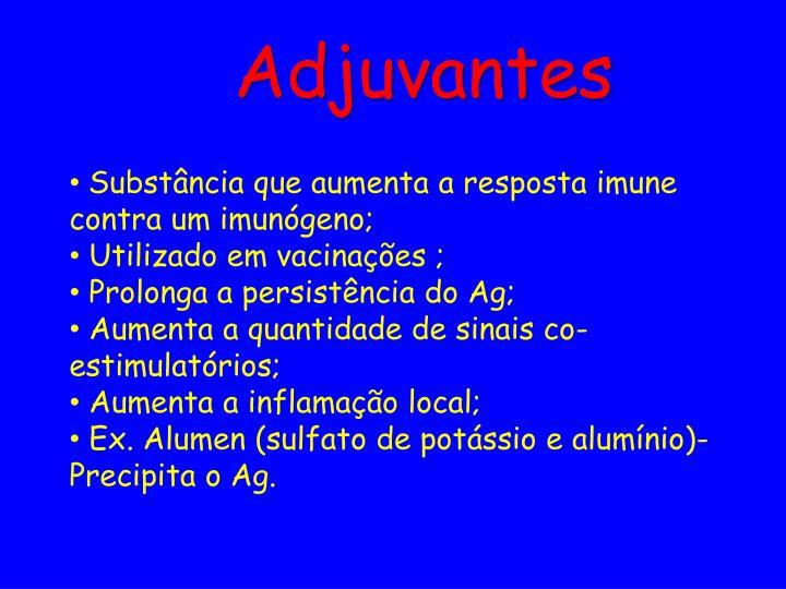 Adjuvantes