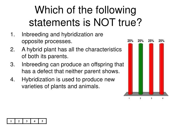 Which of the following statements is NOT true?