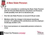 a new state pension
