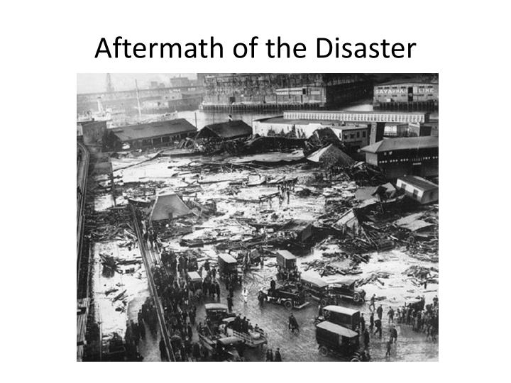 Aftermath of the Disaster