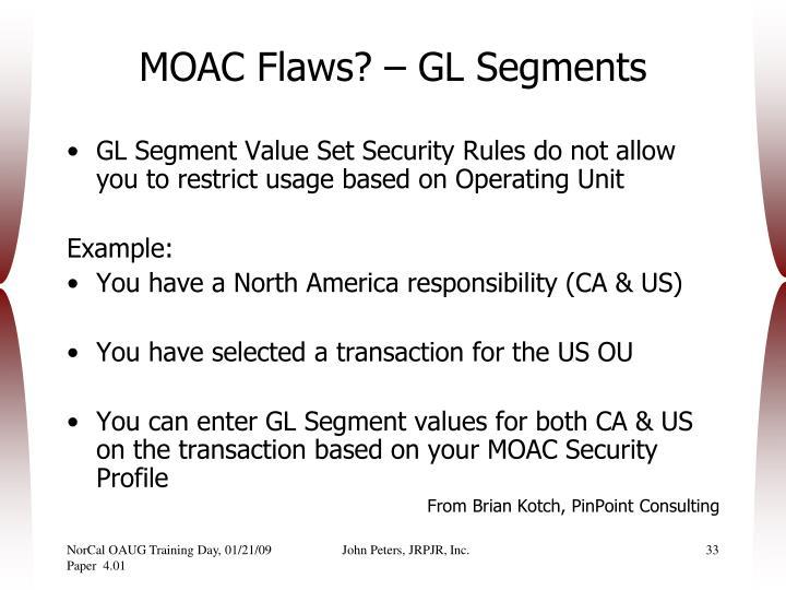 MOAC Flaws? – GL Segments