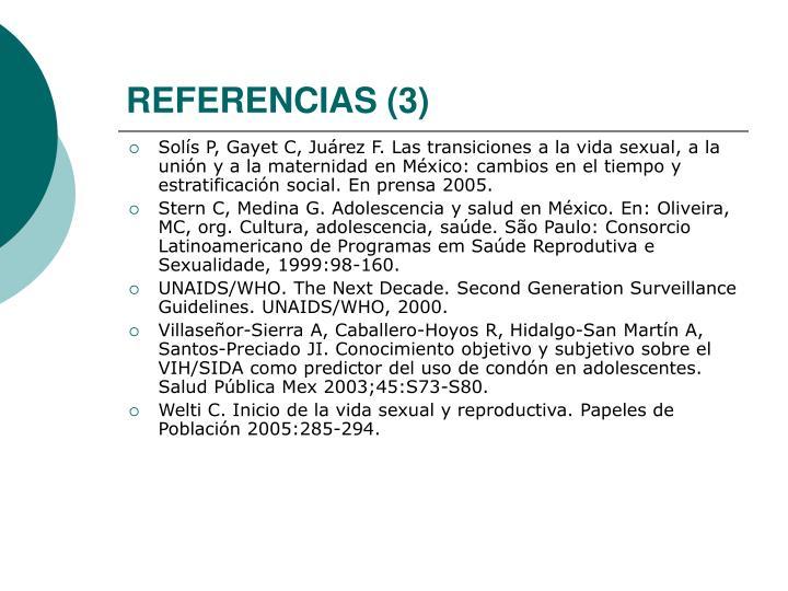 REFERENCIAS (3)