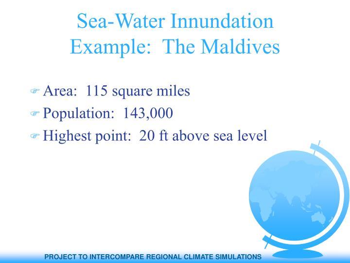 Sea-Water Innundation