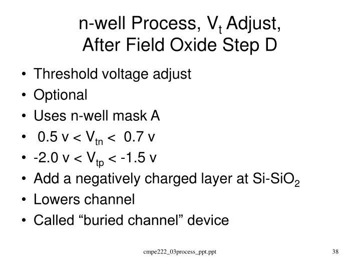 n-well Process, V