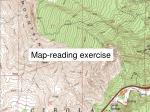 map reading exercise