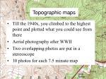 topographic maps1