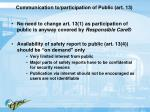 communication to participation of public art 13