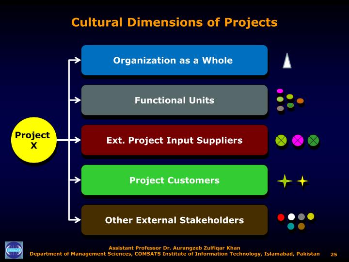 Cultural Dimensions of Projects