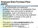 employee share purchase plans espp1