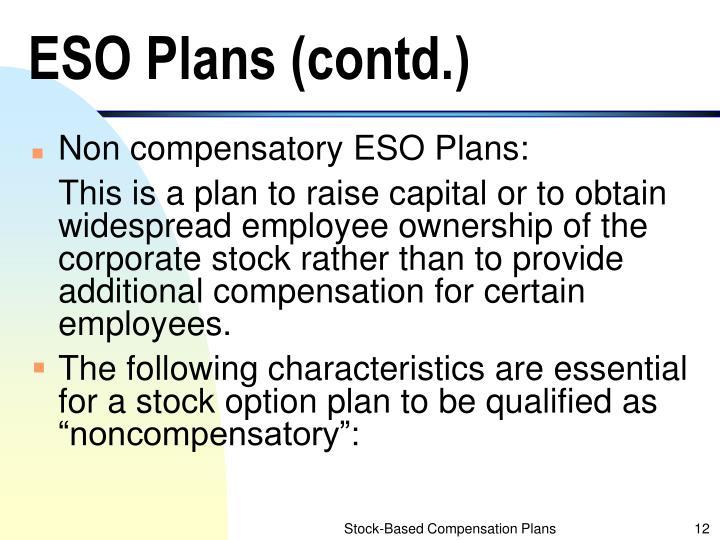ESO Plans (contd.)