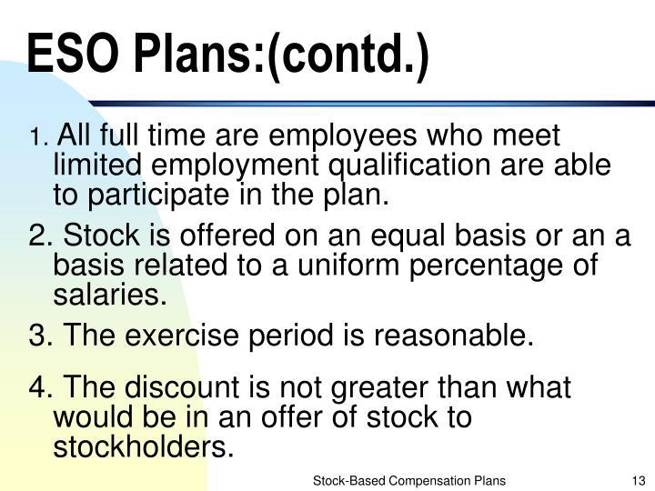 ESO Plans:(contd.)