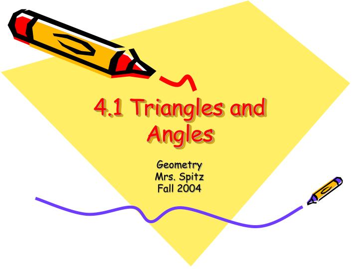 4 1 triangles and angles