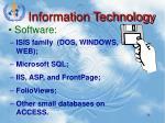 information technology1