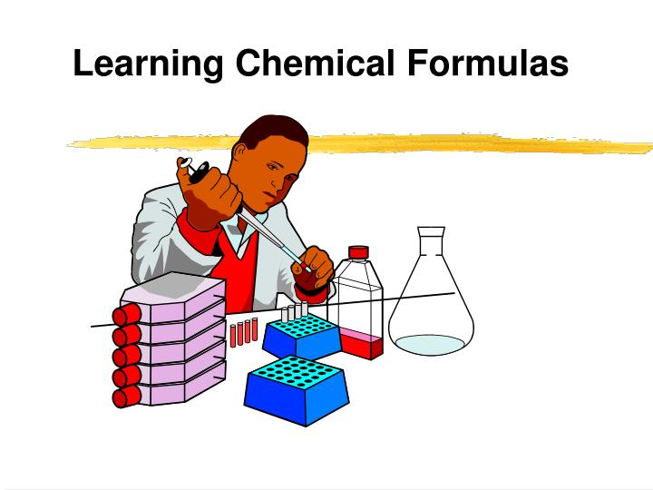 Learning chemical formulas