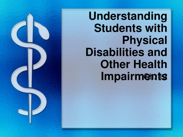ct277 understand physical disability