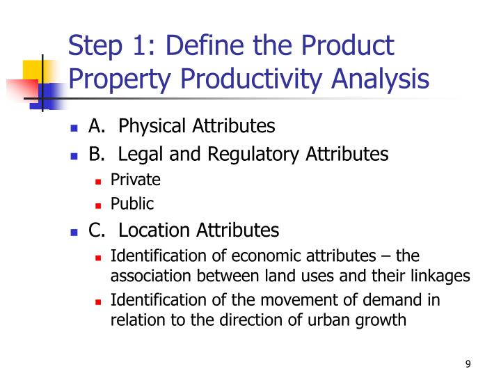 Step 1: Define the Product