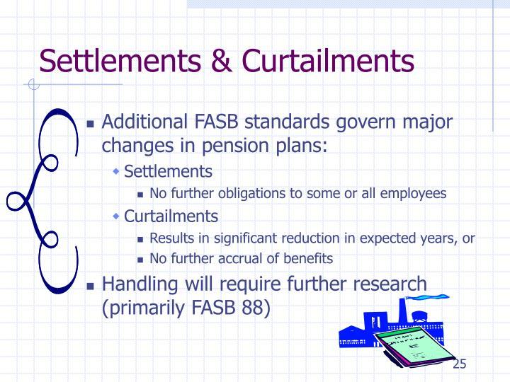 Settlements & Curtailments
