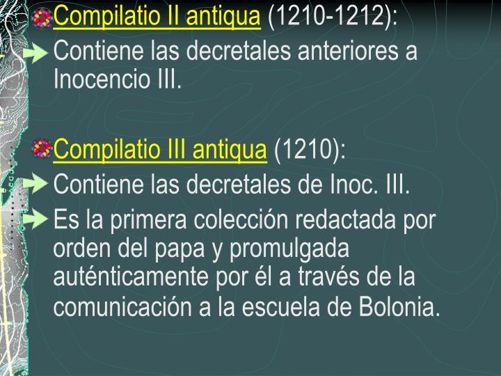 Compilatio II antiqua