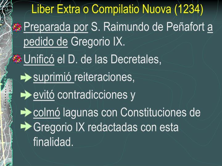 Liber Extra o Compilatio Nuova