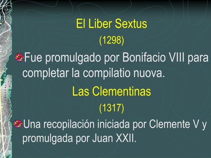 El Liber Sextus
