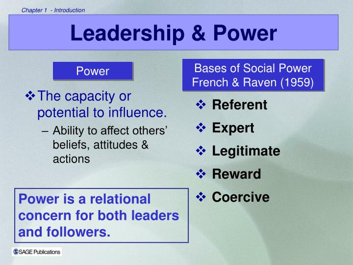 The capacity or potential to influence.
