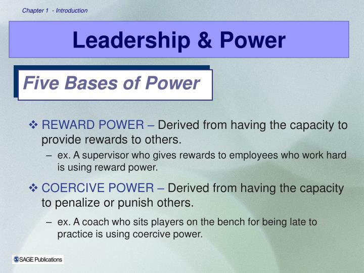 REWARD POWER –